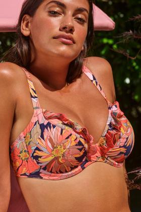 PrimaDonna Swim - Melanesia Plunge Bikini Top D-G cup