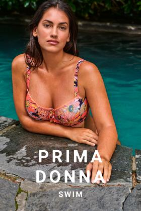 PrimaDonna Swim - Melanesia Bandeau Bikini Top D-H cup
