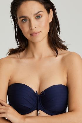 PrimaDonna Swim - Sherry Bikini Bandeau bra with detachable straps E-G Cup