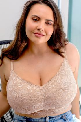 Cosabella - Ultra Curvy Sweetie Bralette without wire G-I Cup