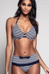 Miss Mandalay - Cabana Soft Triangle Bikini Top E-GG cup