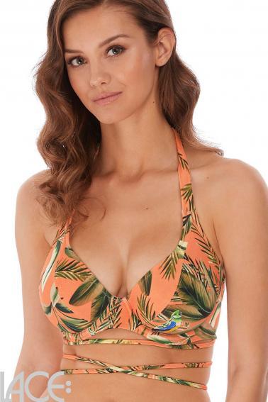 Freya Swim - Birds in paradise Halter Bikini Top F-K cup