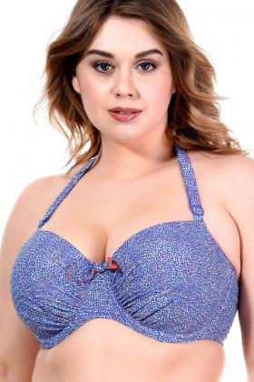 PrimaDonna Swim - Jacaranda Bandeau Bikini Top E-G cup