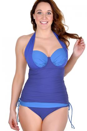 LACE LIngerie and Swim - Lapholm Tankini Top D-G cup