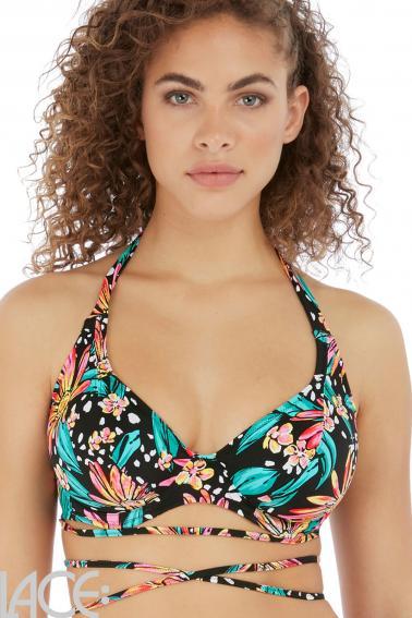 Freya Swim - Wild Daisy Halter Bikini Top G-K cup