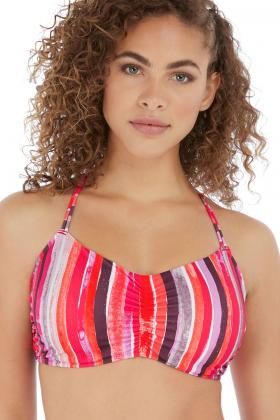 Freya Swim - Bali Bay Bandeau Bikini Top F-I cup