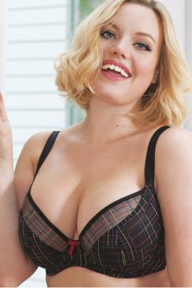 Curvy Kate - Check Me Out Plunge bra F-J cup