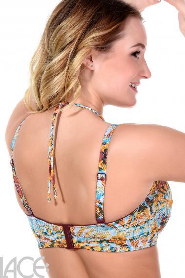 PrimaDonna Swim - Vegas Bikini Bandeau bra with detachable straps E-G Cup