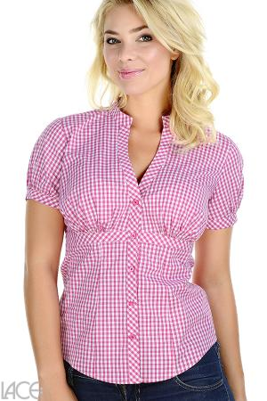 LACE Design - Casual Shirt (F-H cup)