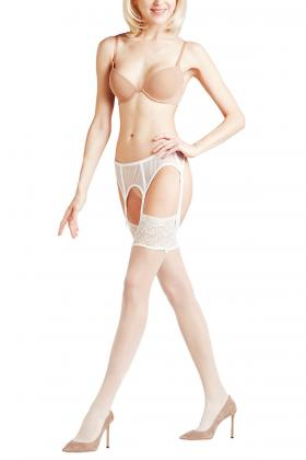 Falke - Seidenglatt 15 Stockings for a suspender belt!