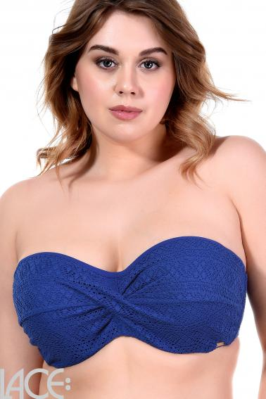 Panache Swim - Anya Crochet Bandeau Bikini Top E-G cup