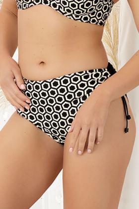 Nessa - Bikini Full brief (adjustable leg) - Nessa Swim 07