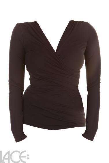 Urkye - Wrap Top long-sleeves - Urkye BI-013