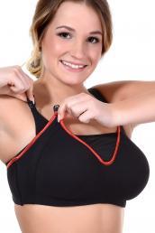 Cake - Zest Flexi Underwired Sports Nursing bra F-K cup