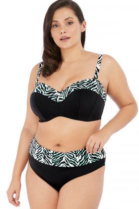 Elomi - Zulu Rhythm Bandeau Bikini Top I-L cup